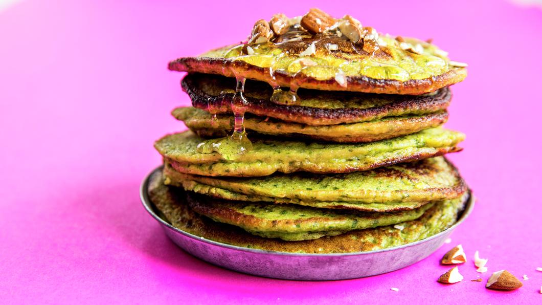 Grønne pannekaker
