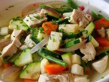høst-høstsuppe med kylling