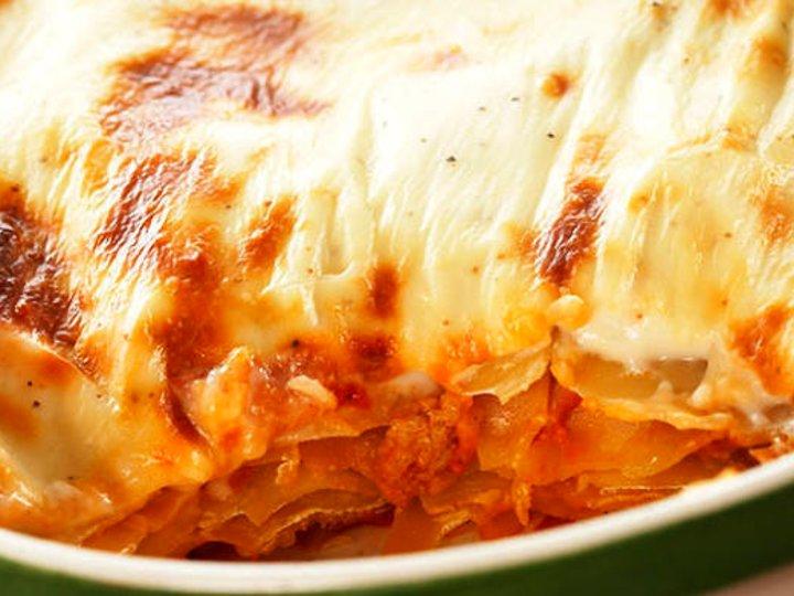 Lasagne med kylling