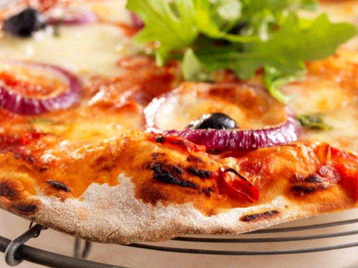 Italiensk pizzabunn.