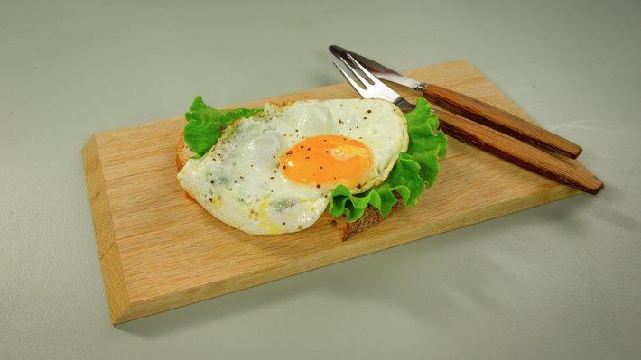 Hvordan steke egg 2