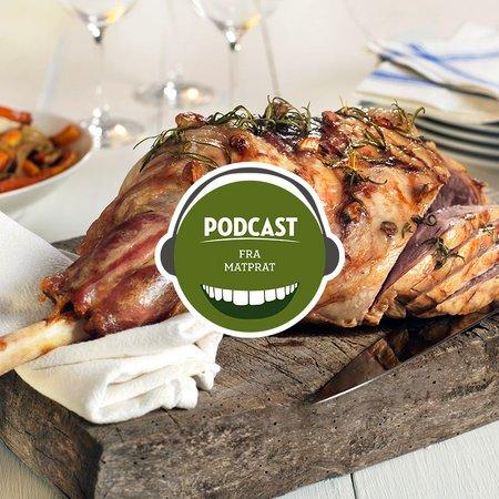 Podcast lammestek teaser block