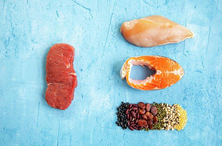 Rødt kjøtt vs. andre proteinkilder