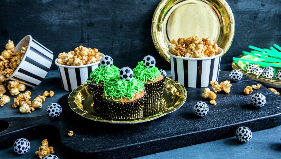 Cupcakes til cupfinalen / Cupcakes til fotballfesten
