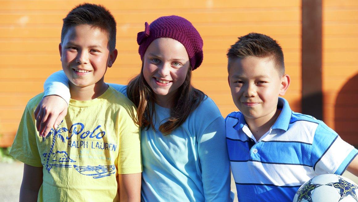 Skolestart Frida, Sindre og Marius