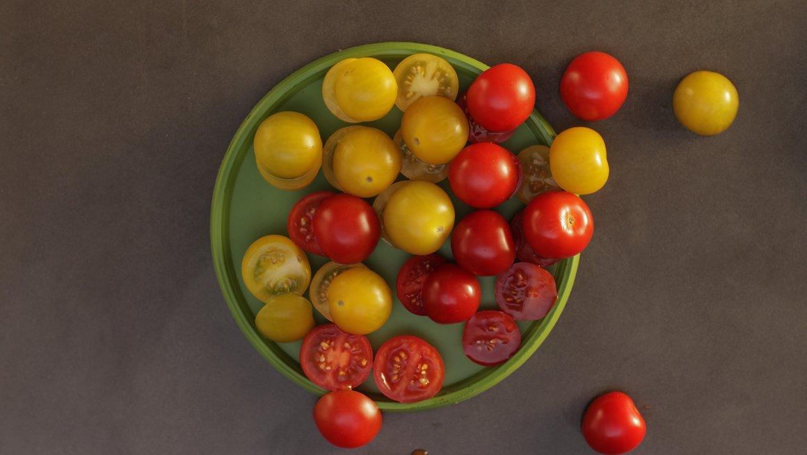 Sommertriks #11 Kjappe, halve tomater