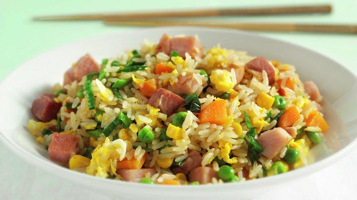 Stekt ris