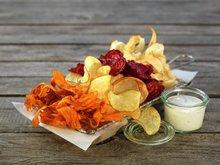 Chips av rotgrønnsaker
