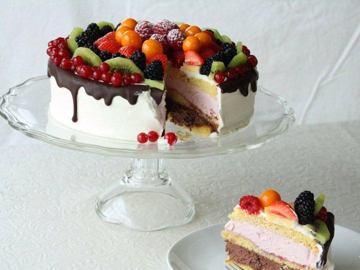 17. mai kake med iskremfyll