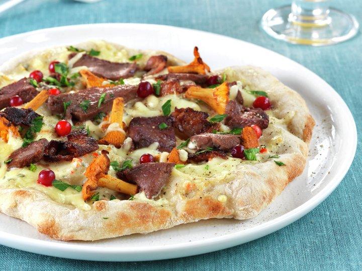 lage pizzadeig dagen før