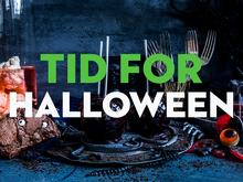 Her finner du våre tips og oppskrifter til en skummel feiring