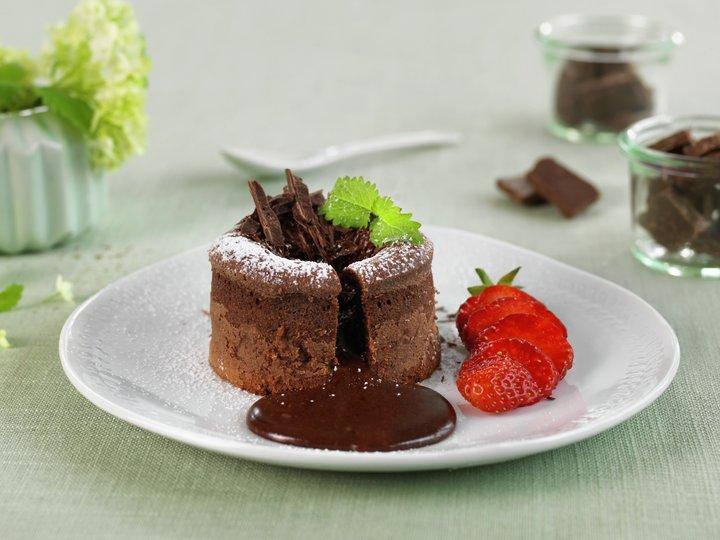 sjokoladefondant oppskrift enkel