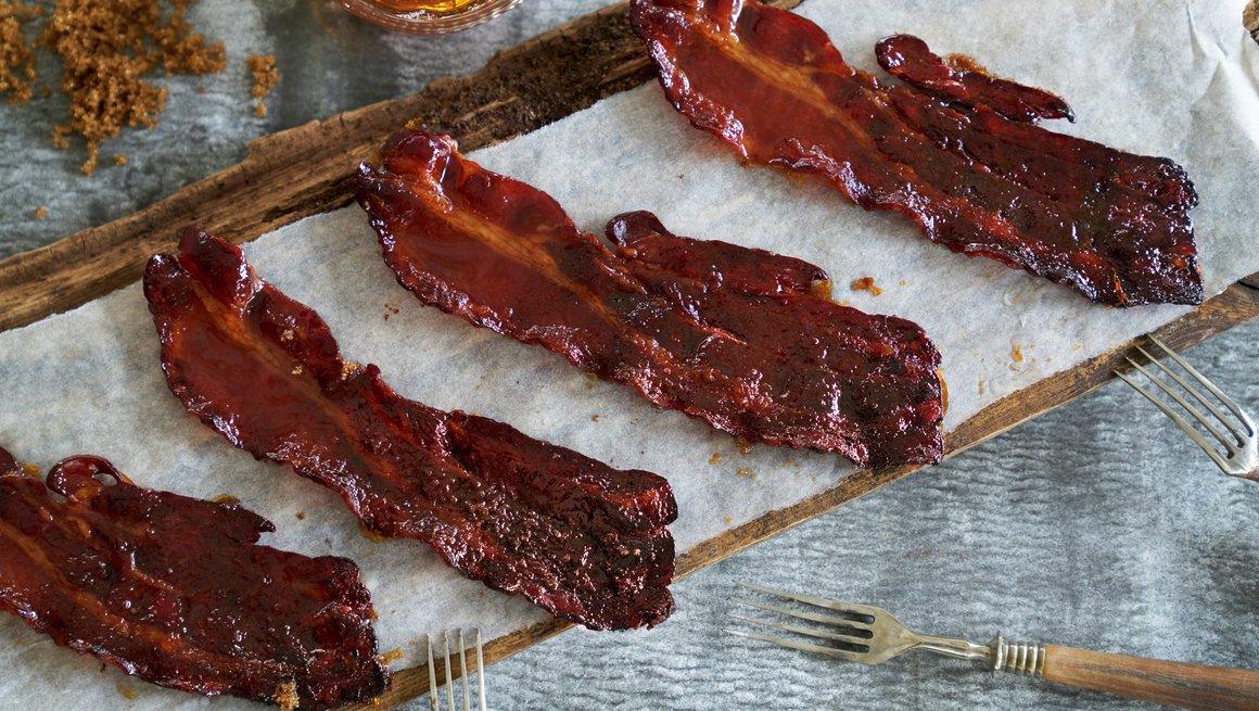 Candisert bacon