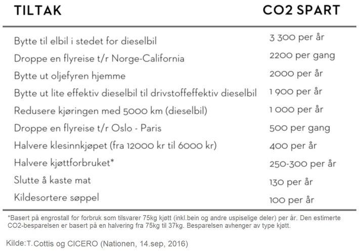 Tiltak CO2-utslipp
