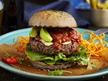 Mexicansk burger