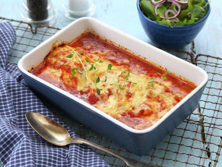 Lange/Torsk i tomatsaus