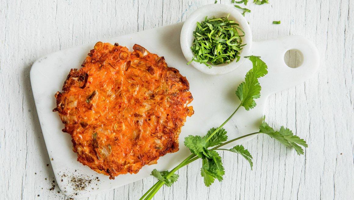 Kimchi-pannekake