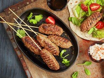 Sis köfte - tyrkisk kebab