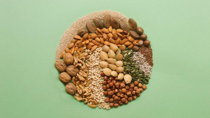 Matvaregruppe - nøtter og frø