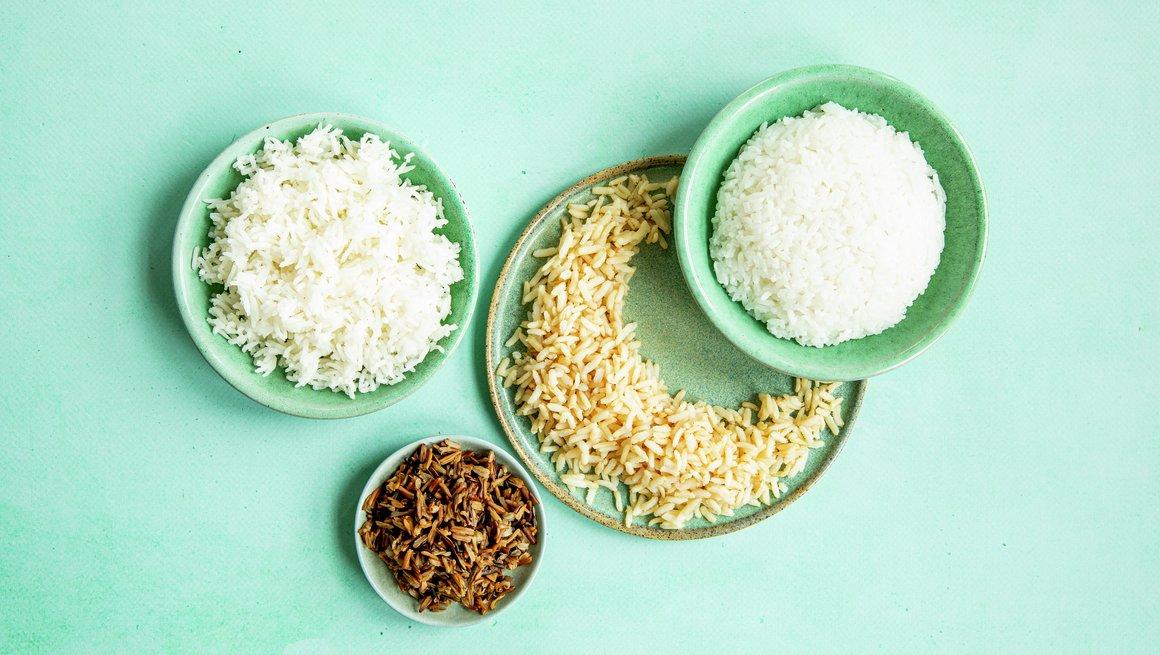Rester av ris