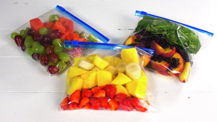 Smoothie - frysing av frukt 1