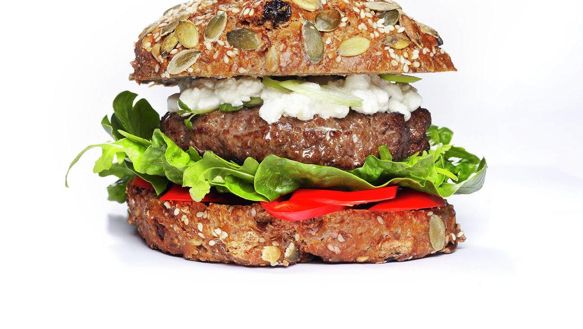 Supersunn burger