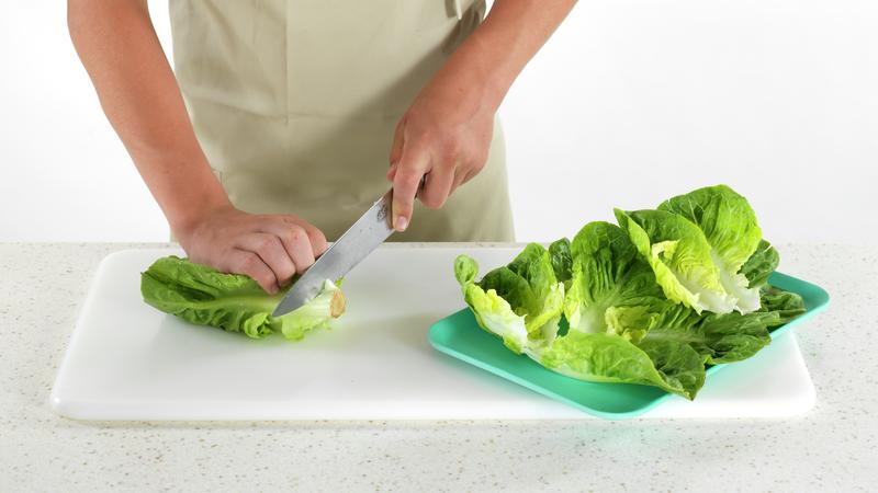Salatwrap med grillet kylling