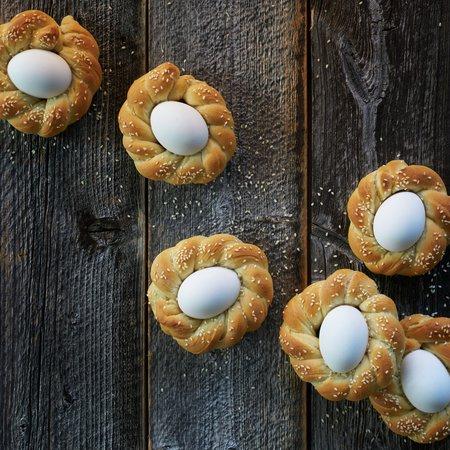 Påskebrød/brød med egg - salt variant